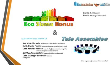 Eco-bonus – Sisma-bonus tele assemblea